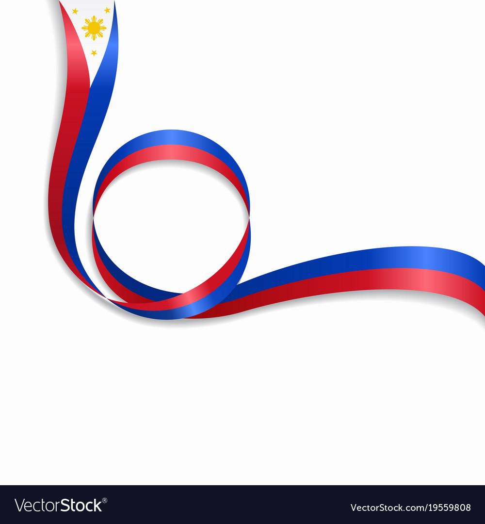 Philippines wavy flag background royalty free vector image philippines wavy flag background vector image buycottarizona Images