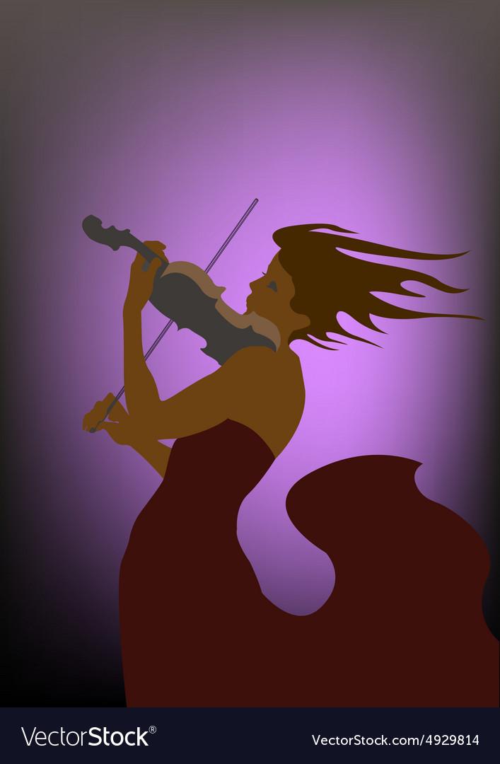 Violin Concerto vector image