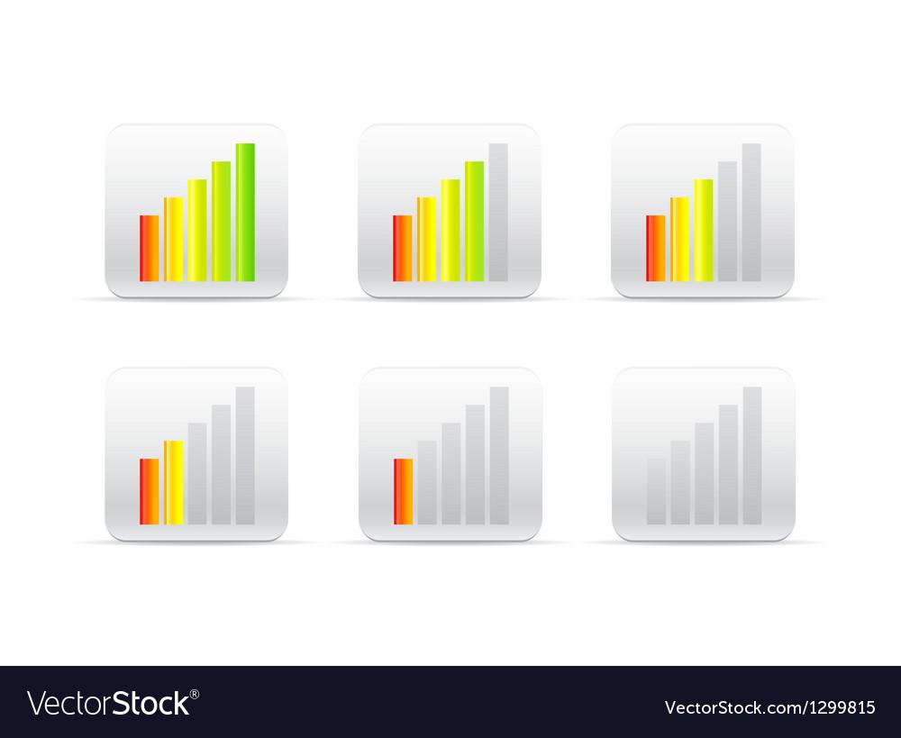 Different color loader vector image