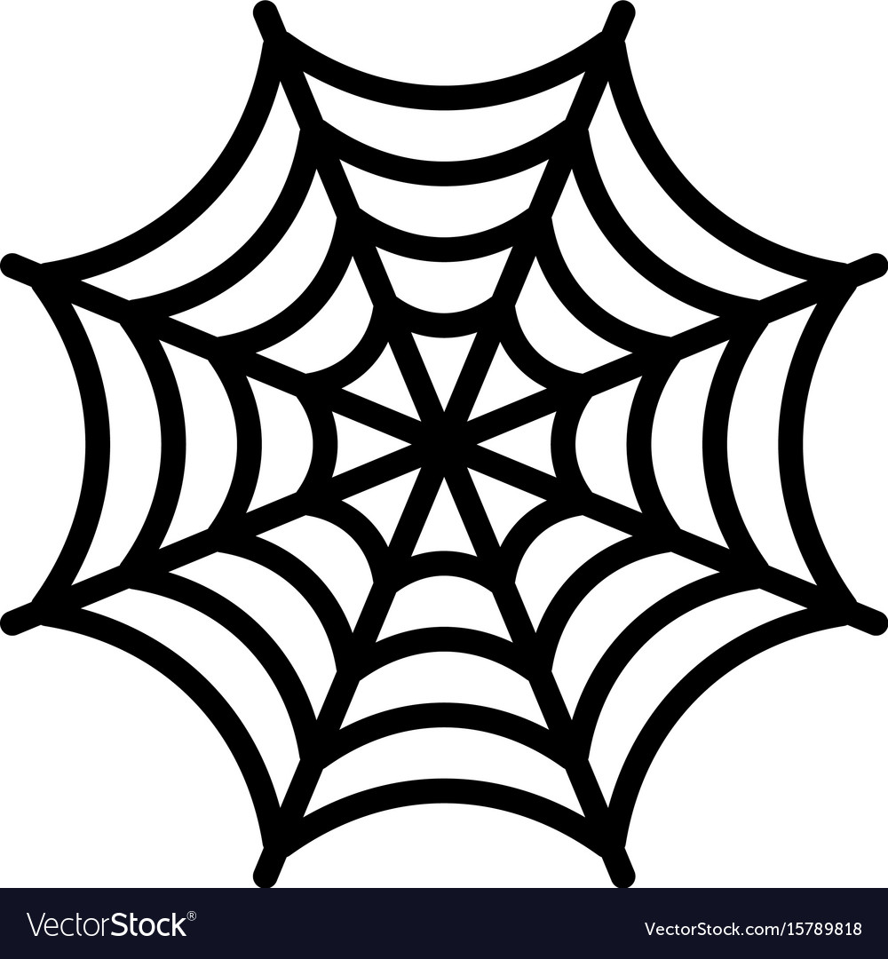 spider web royalty free vector image vectorstock rh vectorstock com spider web vector art spider web vector download