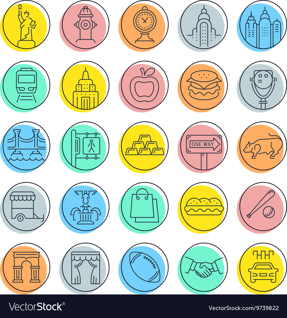 Nyc subway icons vector images 26 biocorpaavc Gallery