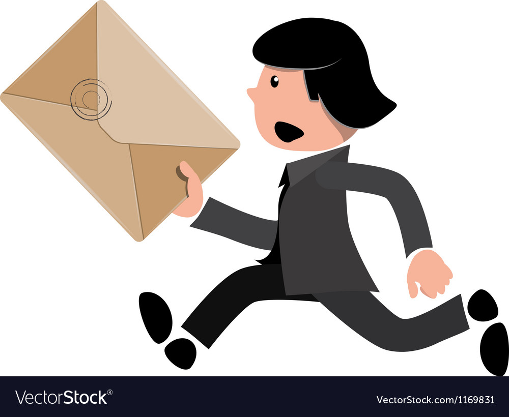 Express package vector image
