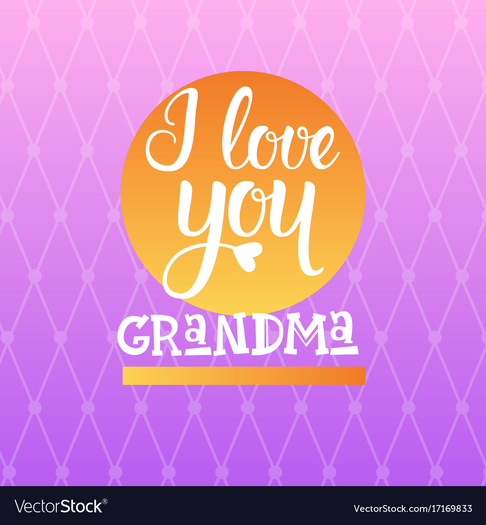 Happy grandparents day greeting card banner vector image kristyandbryce Gallery