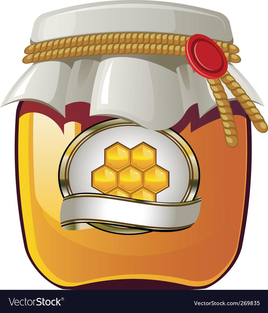 Honey spread Vector Image