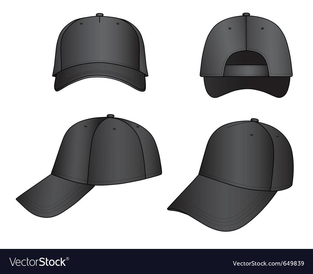 Cap vector image