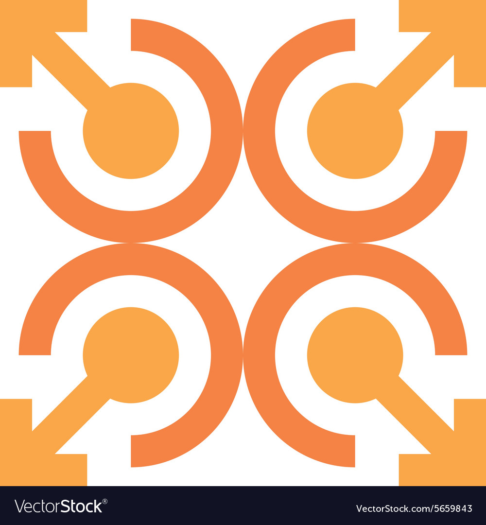 Logo design letter c arrow icon symbol abstract vector image biocorpaavc Images