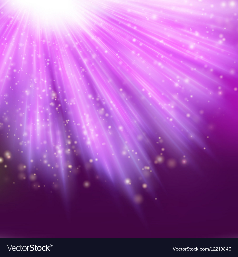 Star light with pink background EPS 10 vector image
