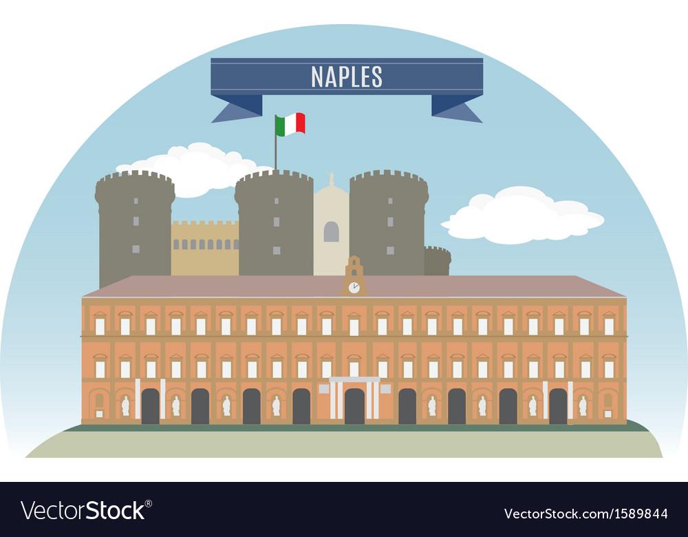 Naples vector image