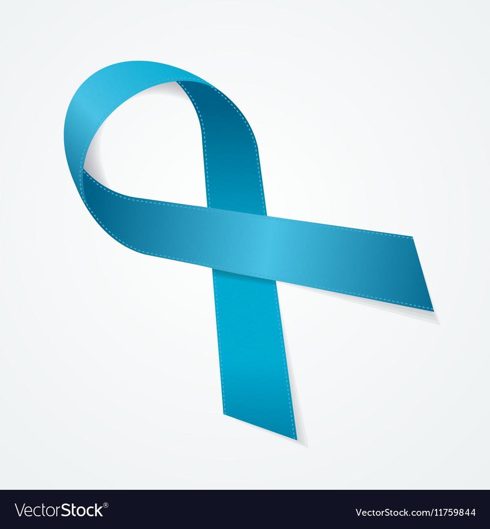 Blue Ribbon Award Sign vector image