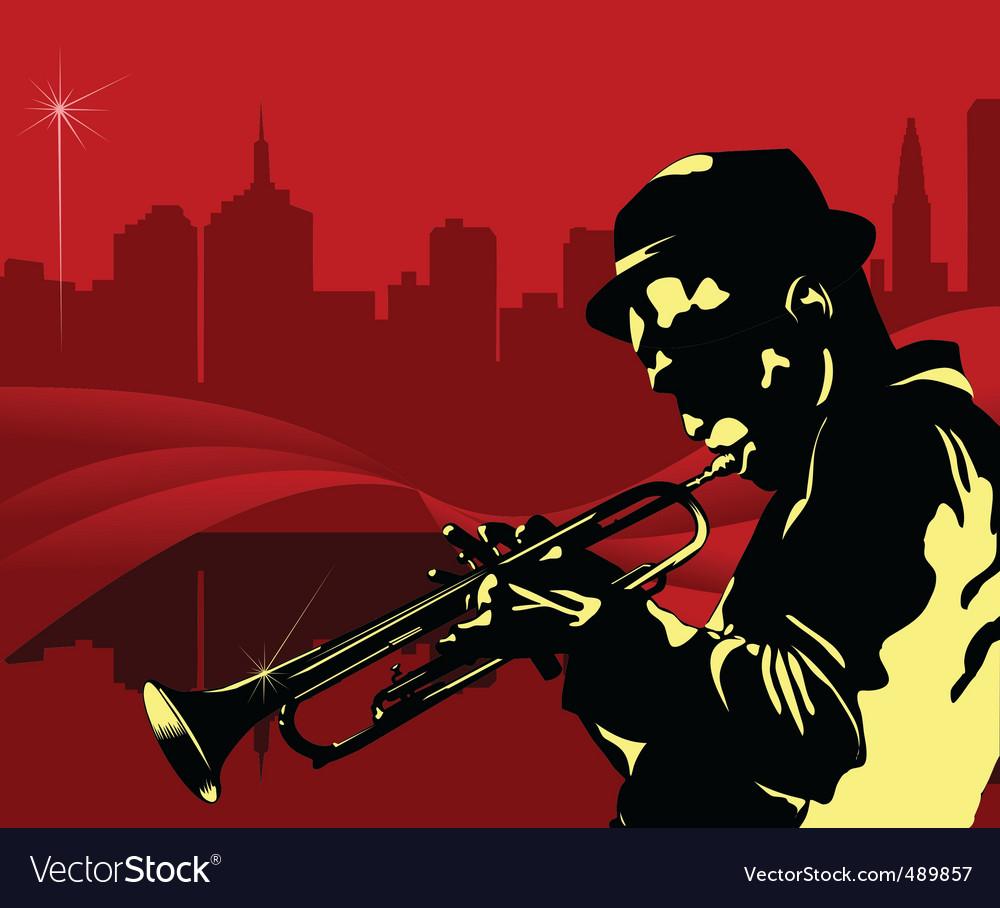 Jazz NY vector image