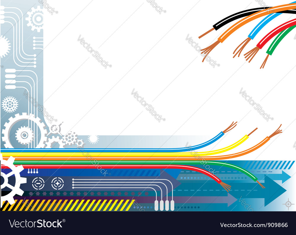 Industry Automation Background vector image