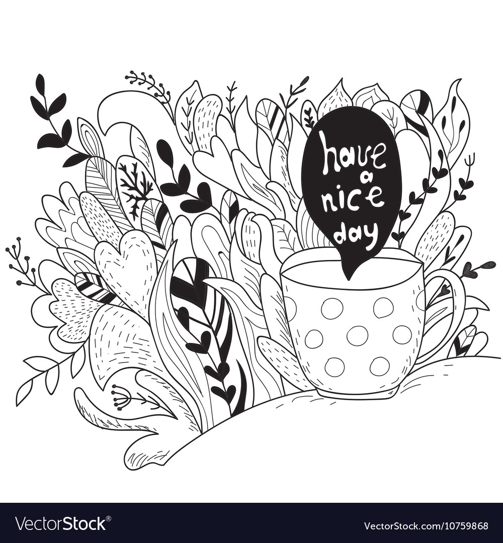 Have A Nice Day Autumn Doodle