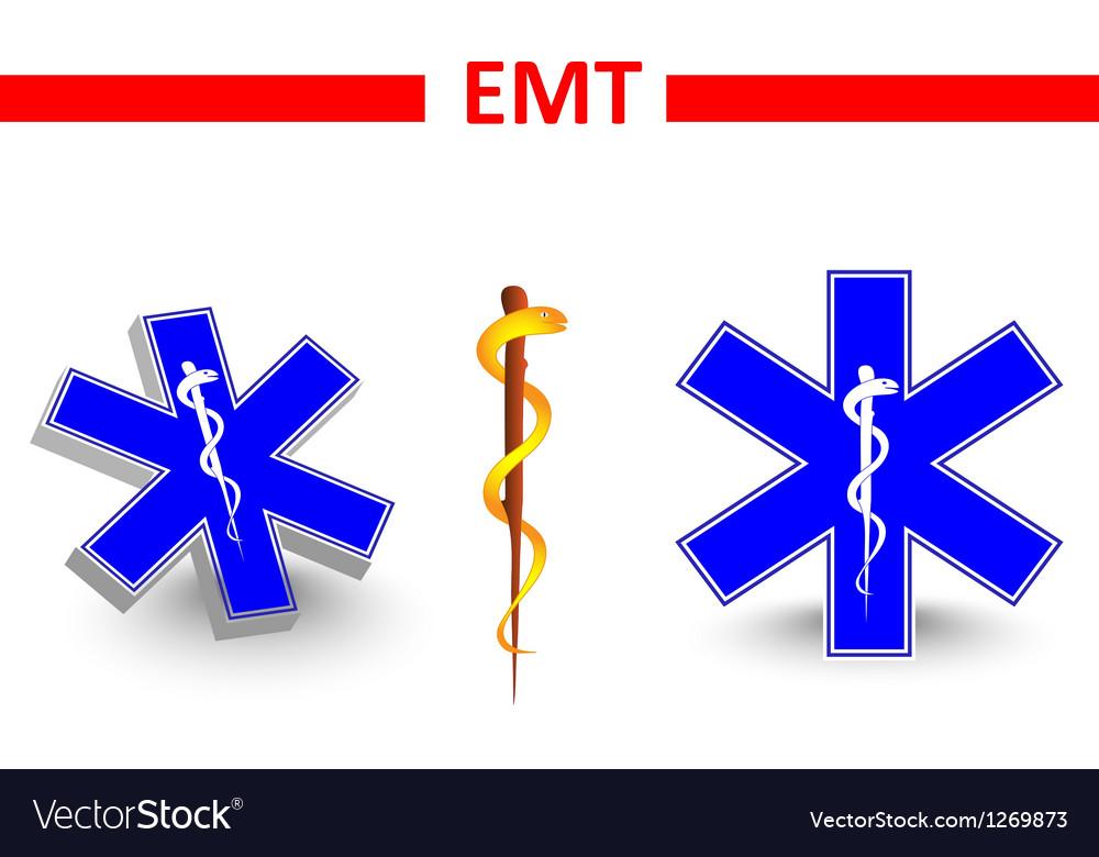 Emt vector image
