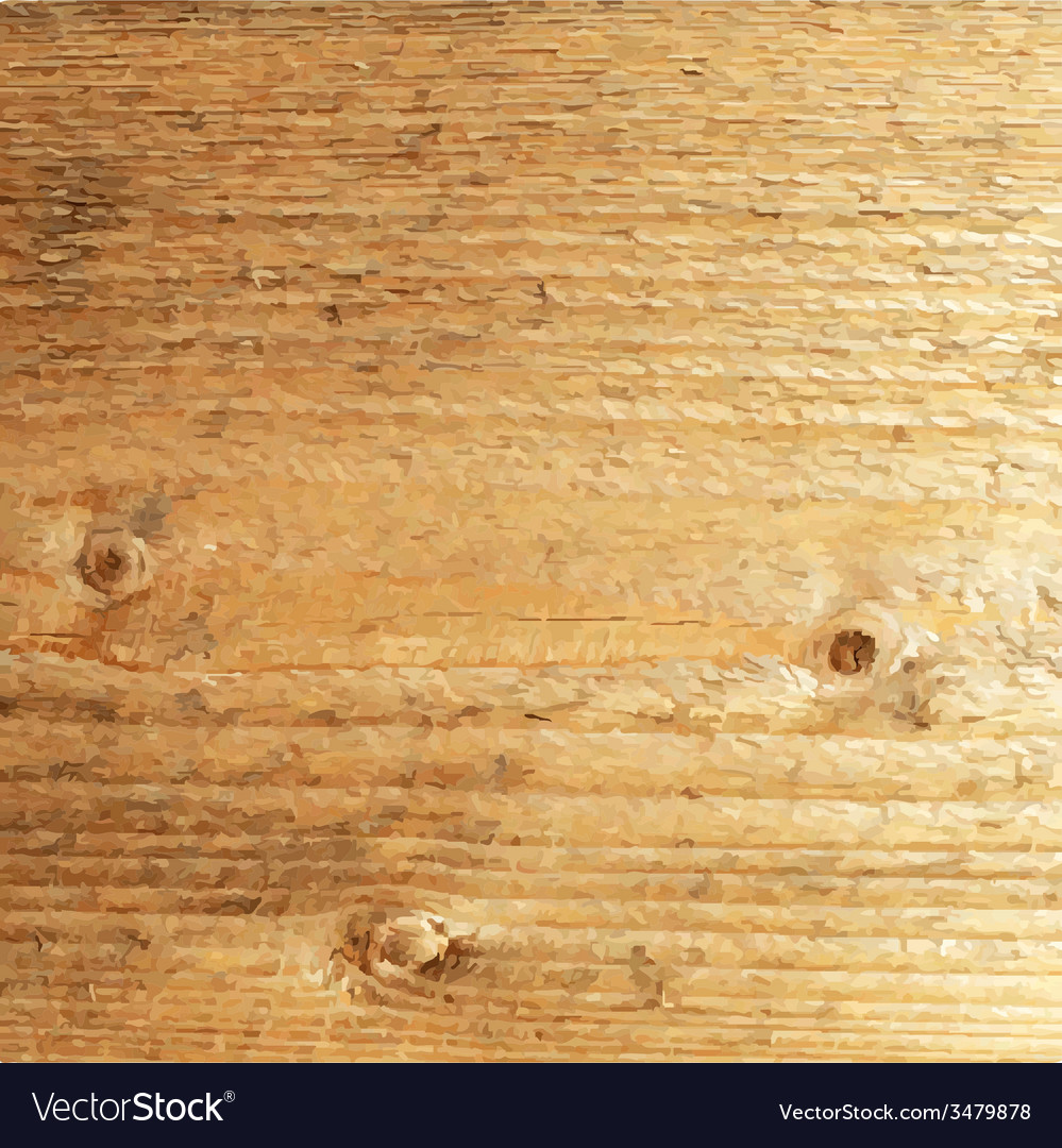 Wooden Poster vector image