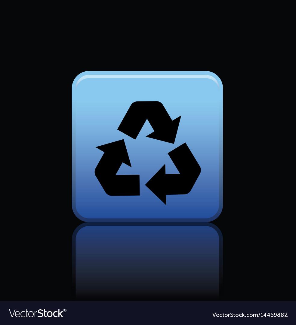 Icon web set vector image