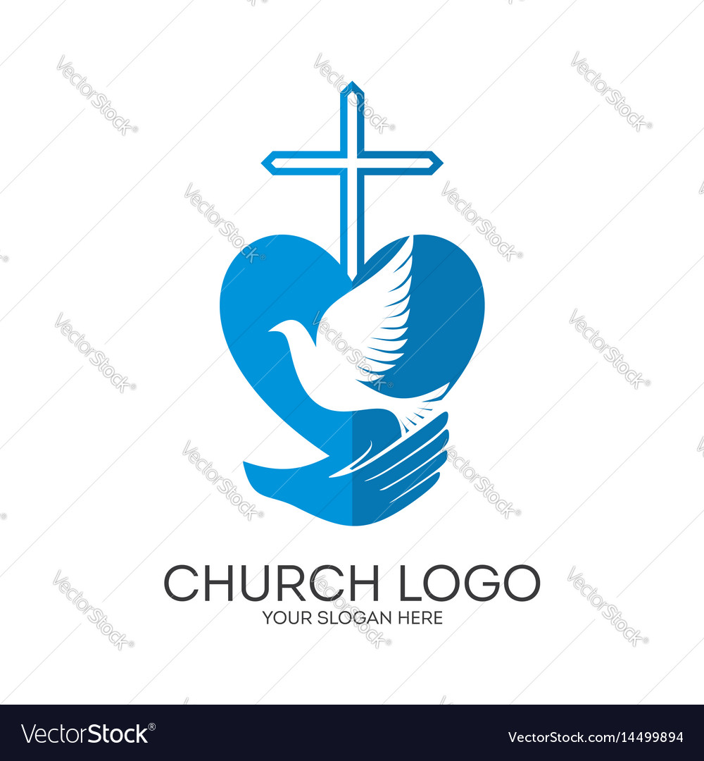 Cross and dove in hand royalty free vector image cross and dove in hand vector image thecheapjerseys Gallery