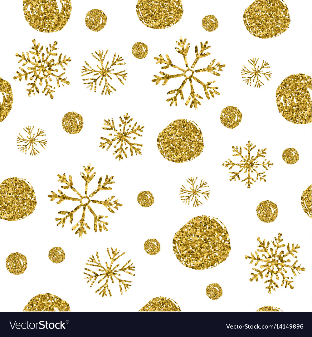 Seamless texture of bright isolated circles with vector image