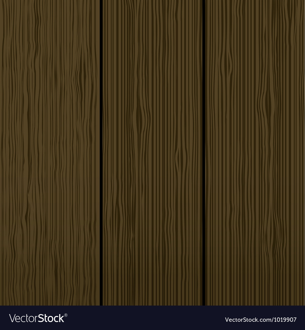Wood wall background vector image