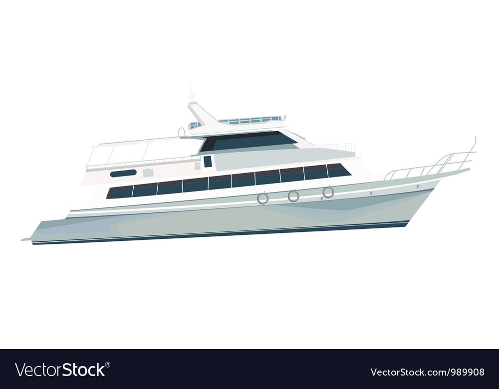 Sea vessel vector image
