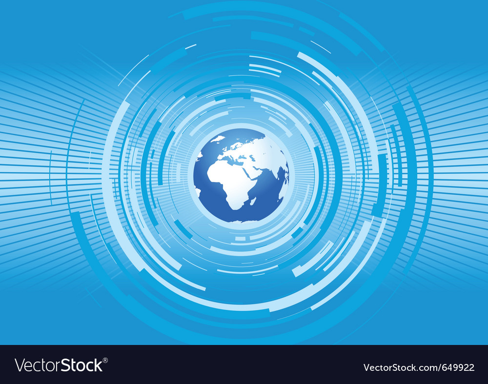World vector image