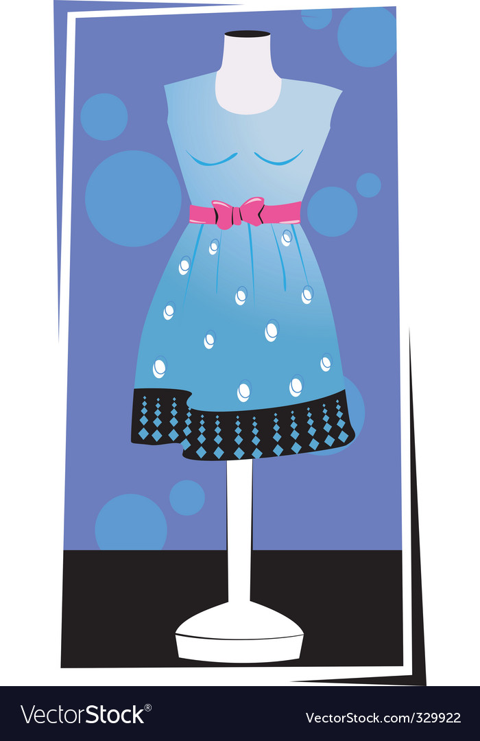 Clothing vector image