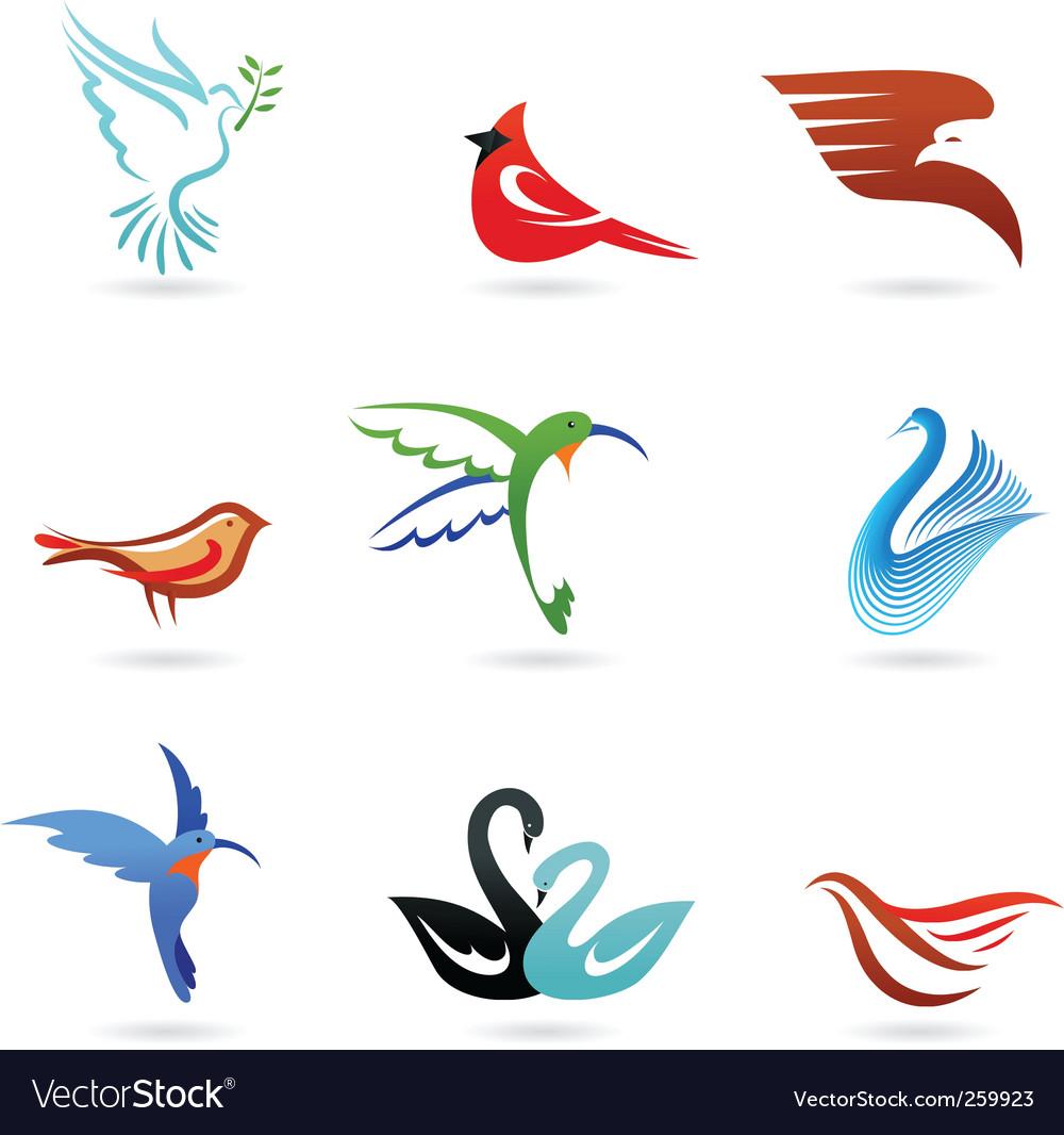 Bird graphics vector image