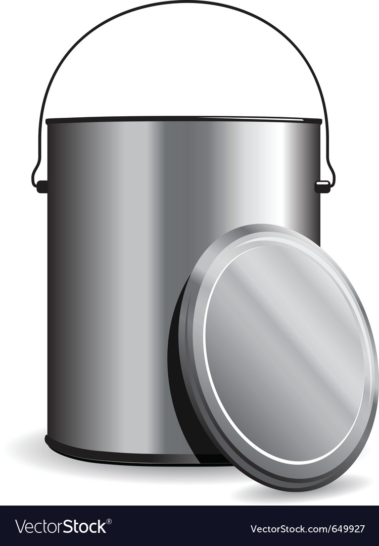 Paint pot vector image