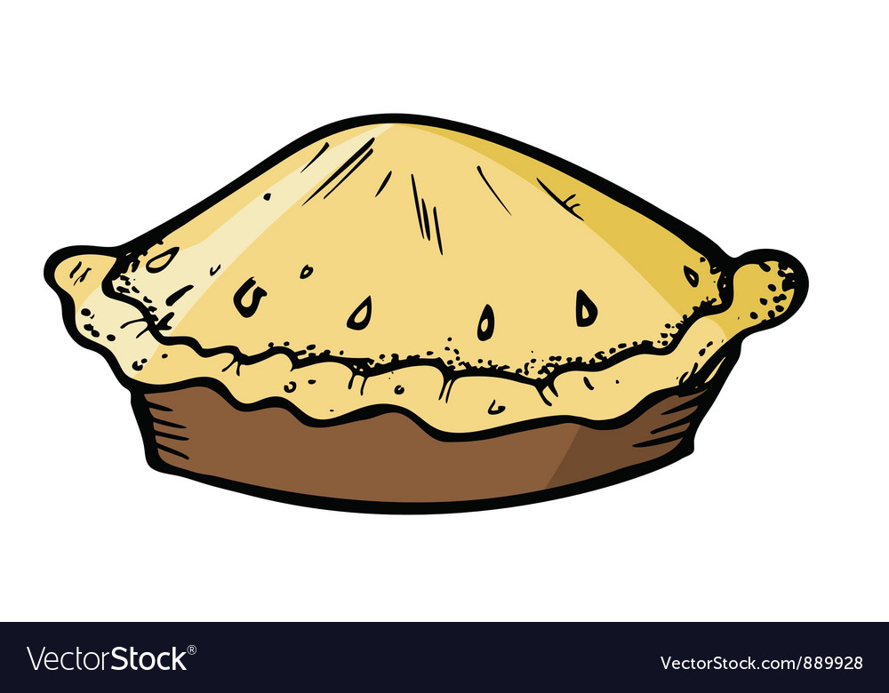 Pie vector image