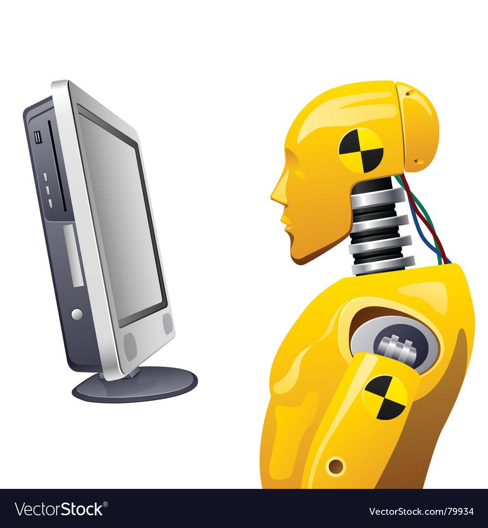 Crash-test dummy vector image