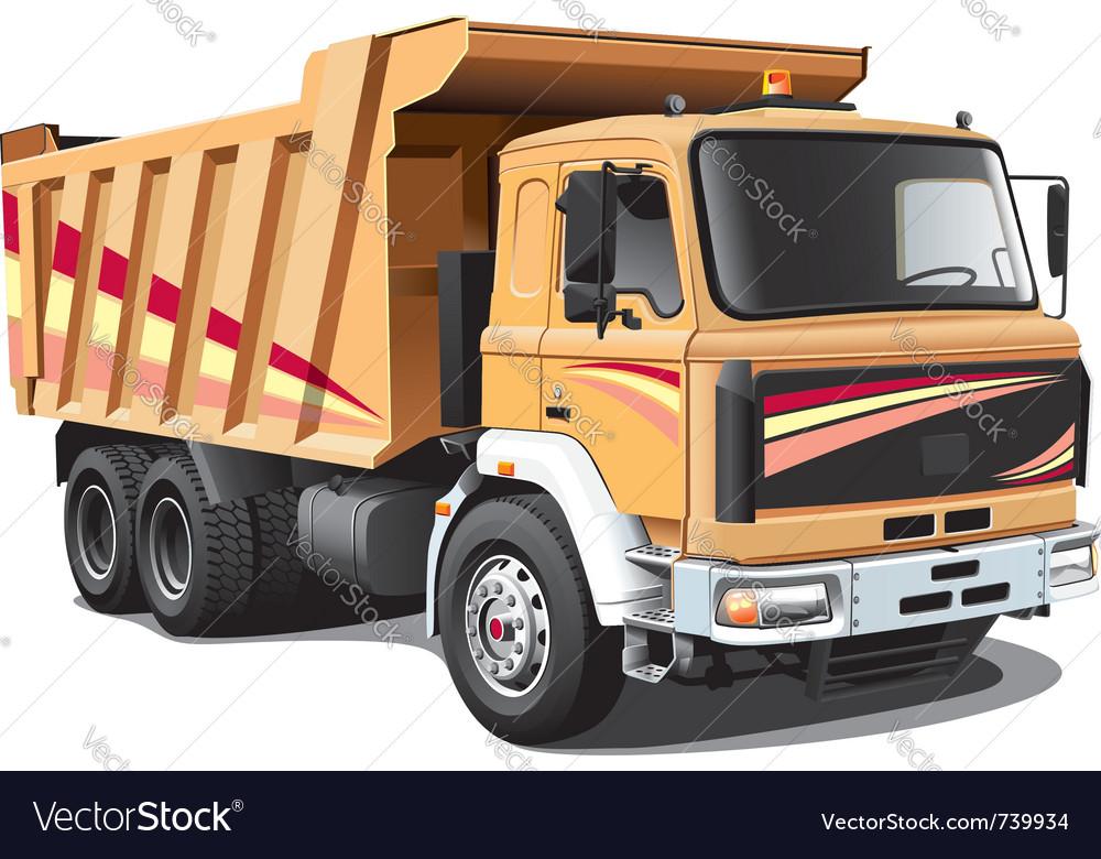 Dump truck Royalty Free Vector Image - VectorStockKenworth Dump Trucks Graphics