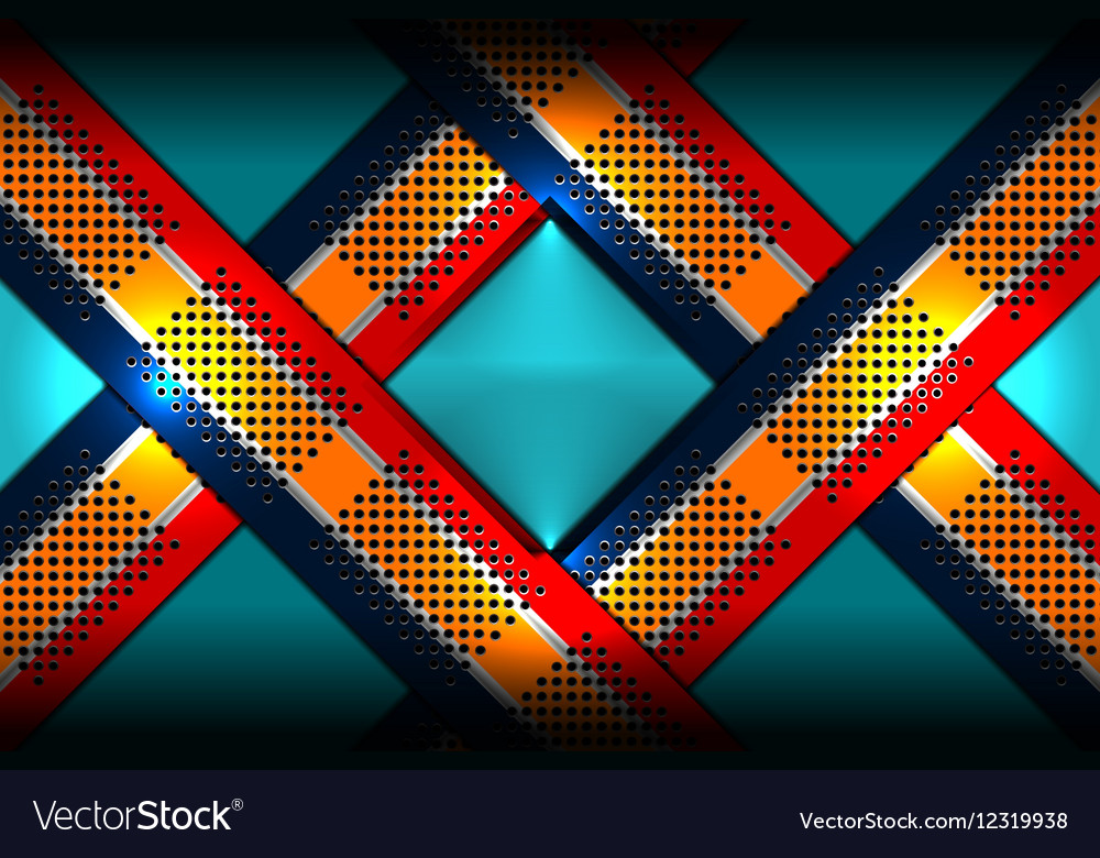 Abstract metal color background vector image