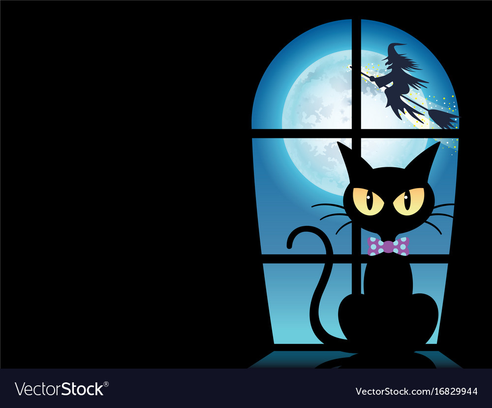 A happy halloween greeting card vector image