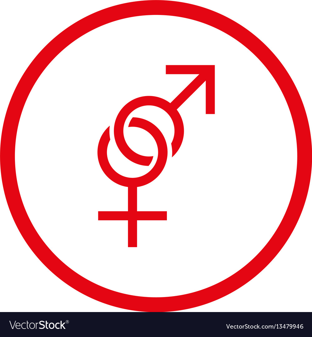 Sex symbol rounded icon Royalty Free Vector ImageSex symbol rounded icon vector image on VectorStock - 웹