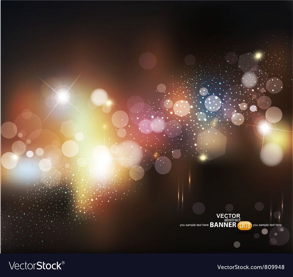 Abstract background with blurred vector image