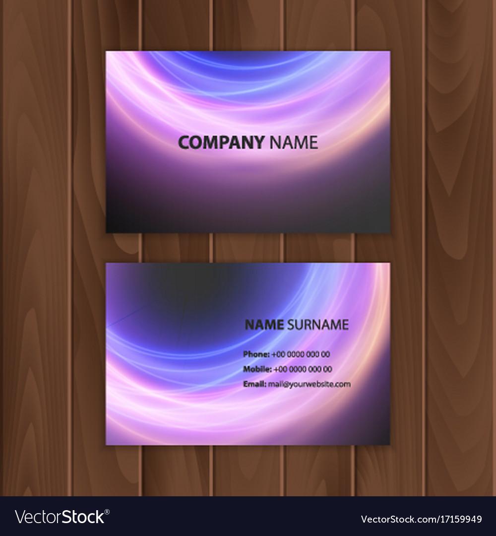 Dark modern business card design template vector image dark modern business card design template vector image magicingreecefo Choice Image