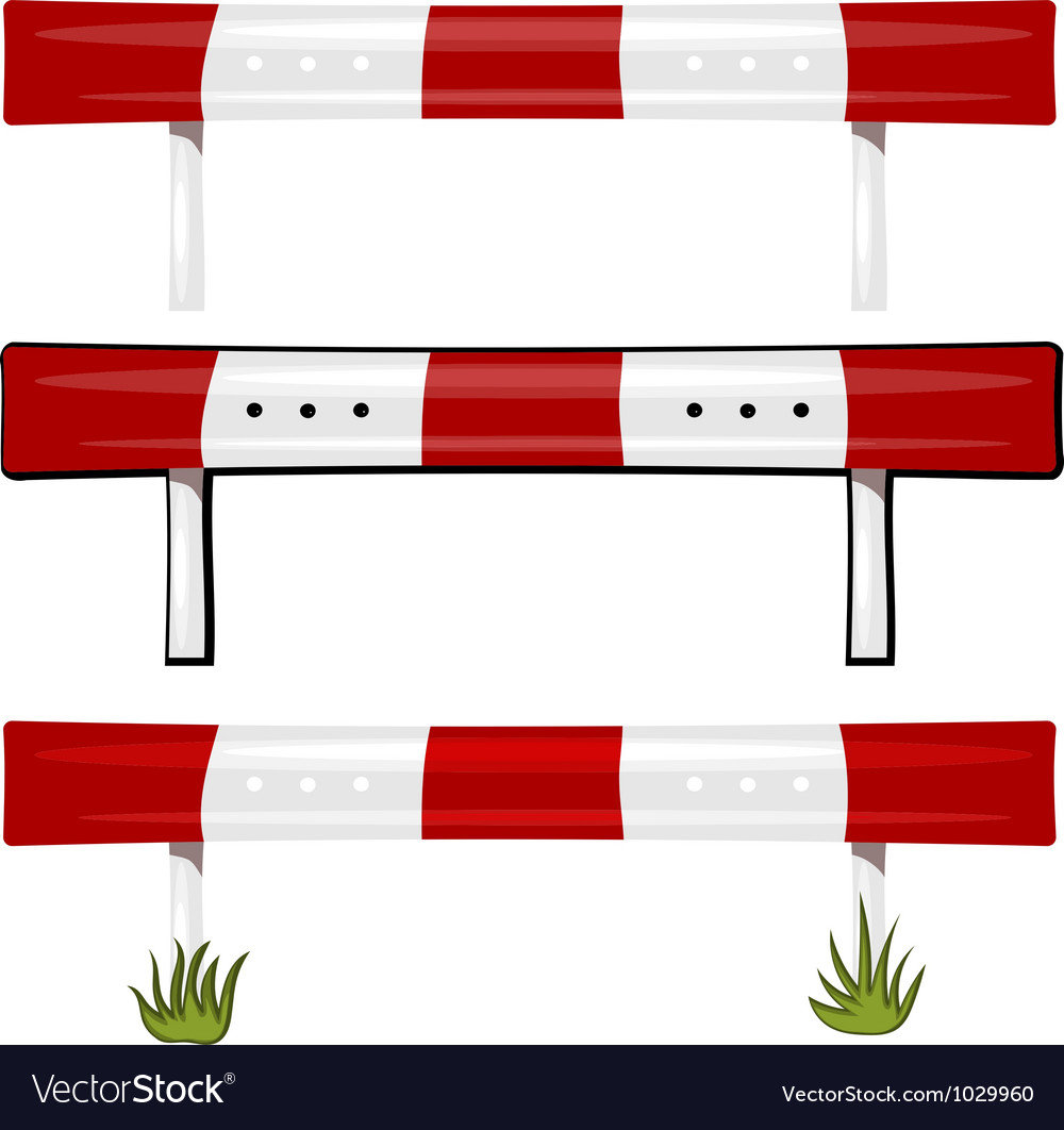 Guardrail vector image