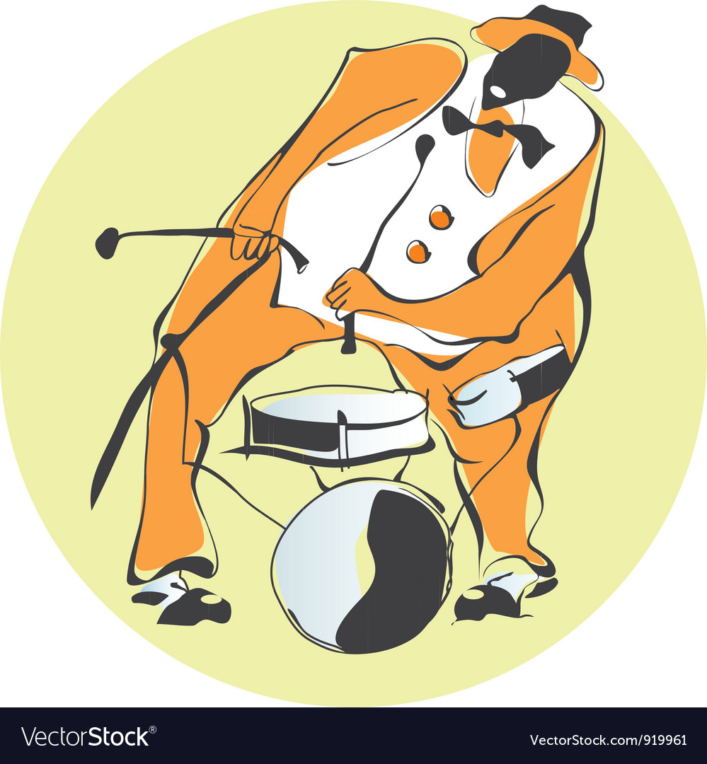 Percussion vector image