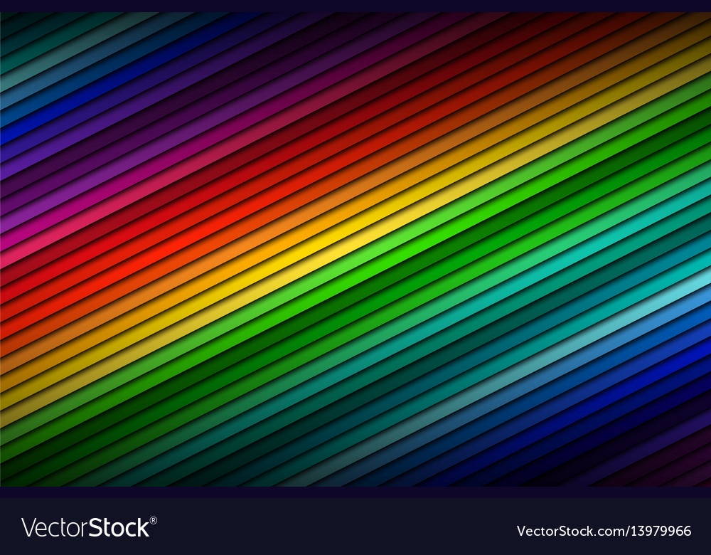 Abstract color palette background vector image