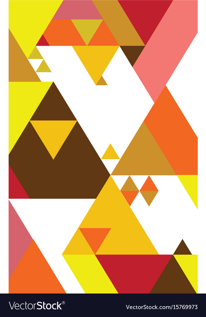 Abstract geometric background graphic design vector image