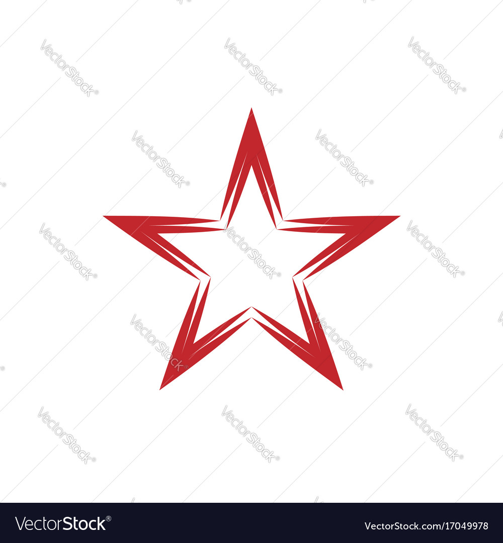 Red star symbol royalty free vector image vectorstock red star symbol vector image buycottarizona