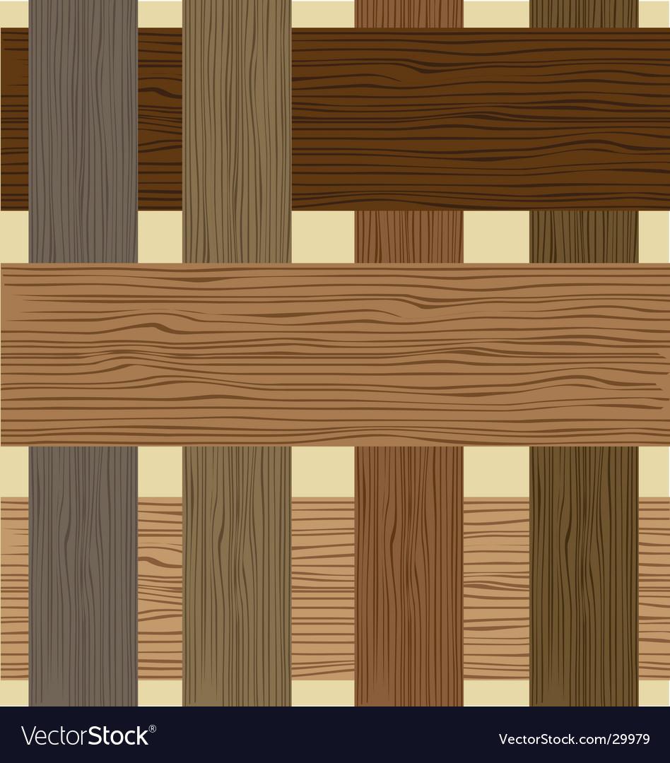 Wood grain texture vector image