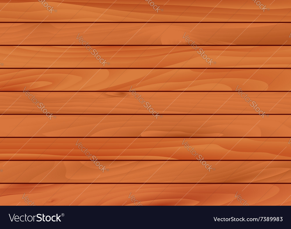 Wooden background with texture of hardwood vector image