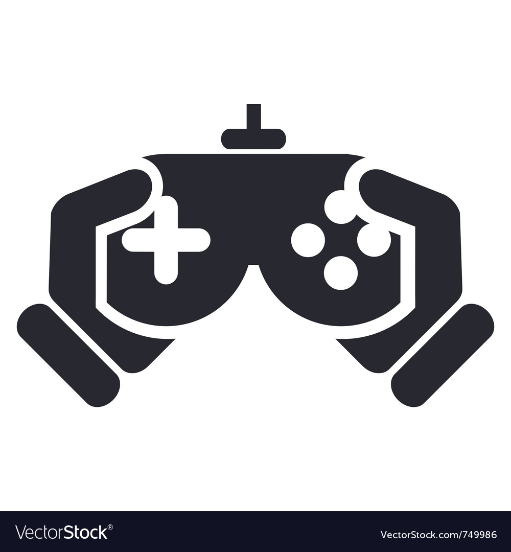 Video game icon vector image
