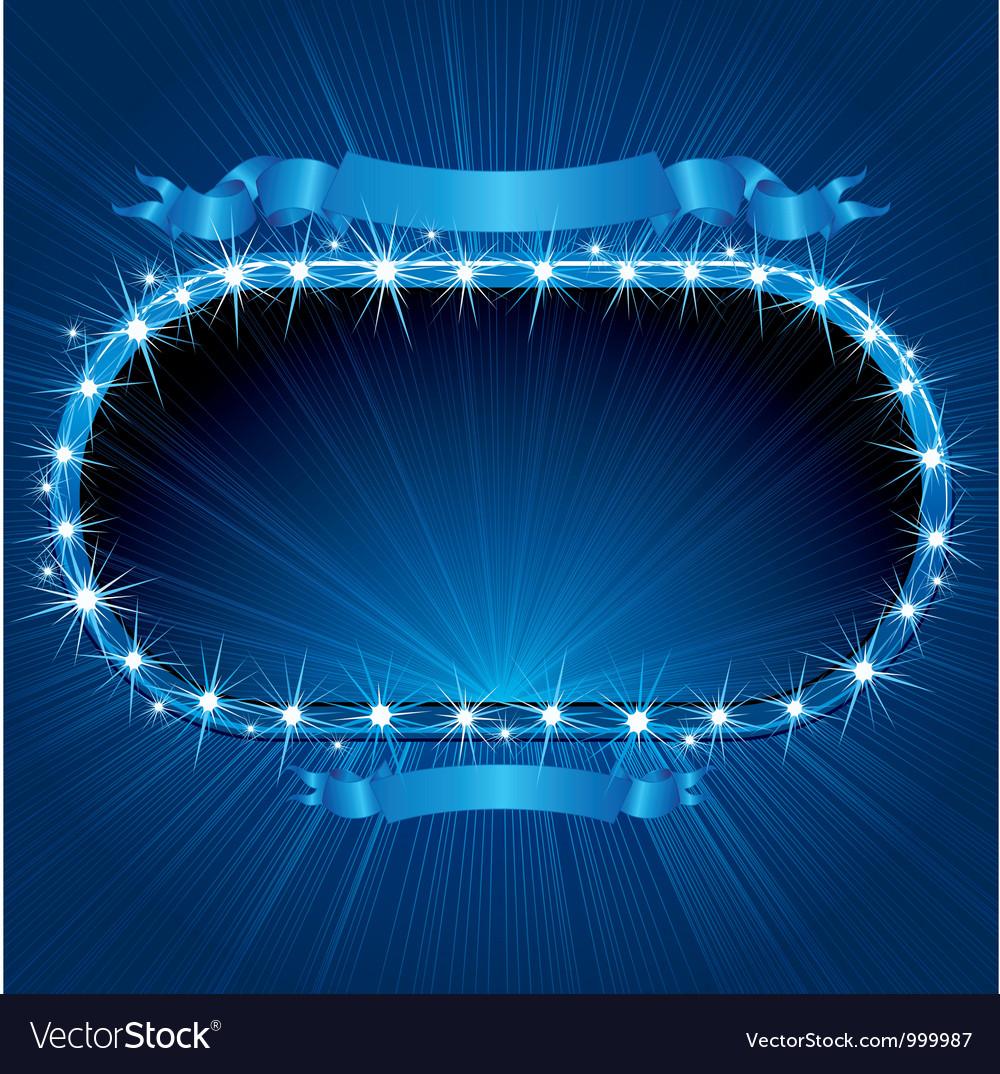 Retro Neon Sign vector image