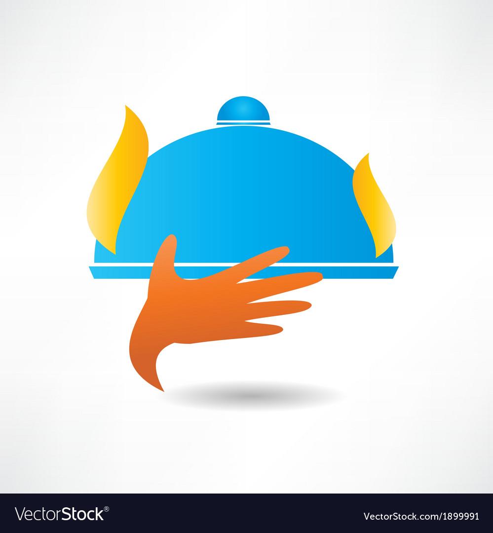 Restaurant icon vector image