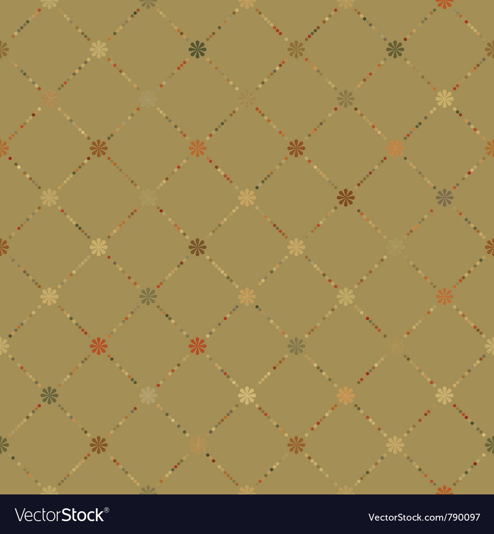 Retro dot pattern vector