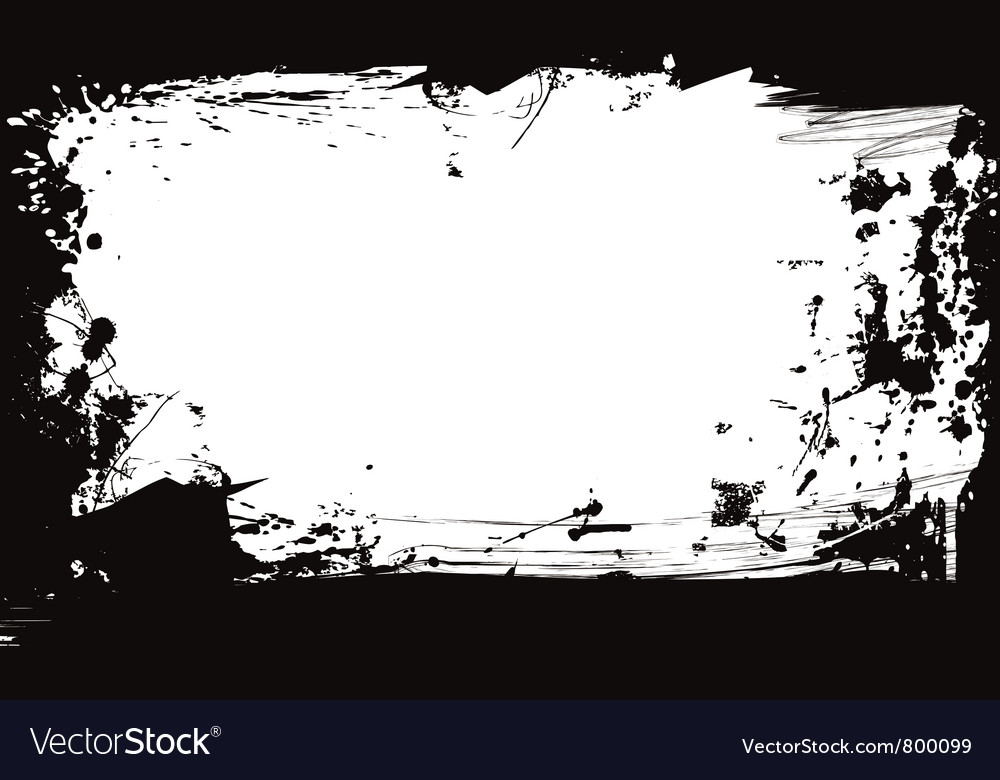 Abstract design frame vector
