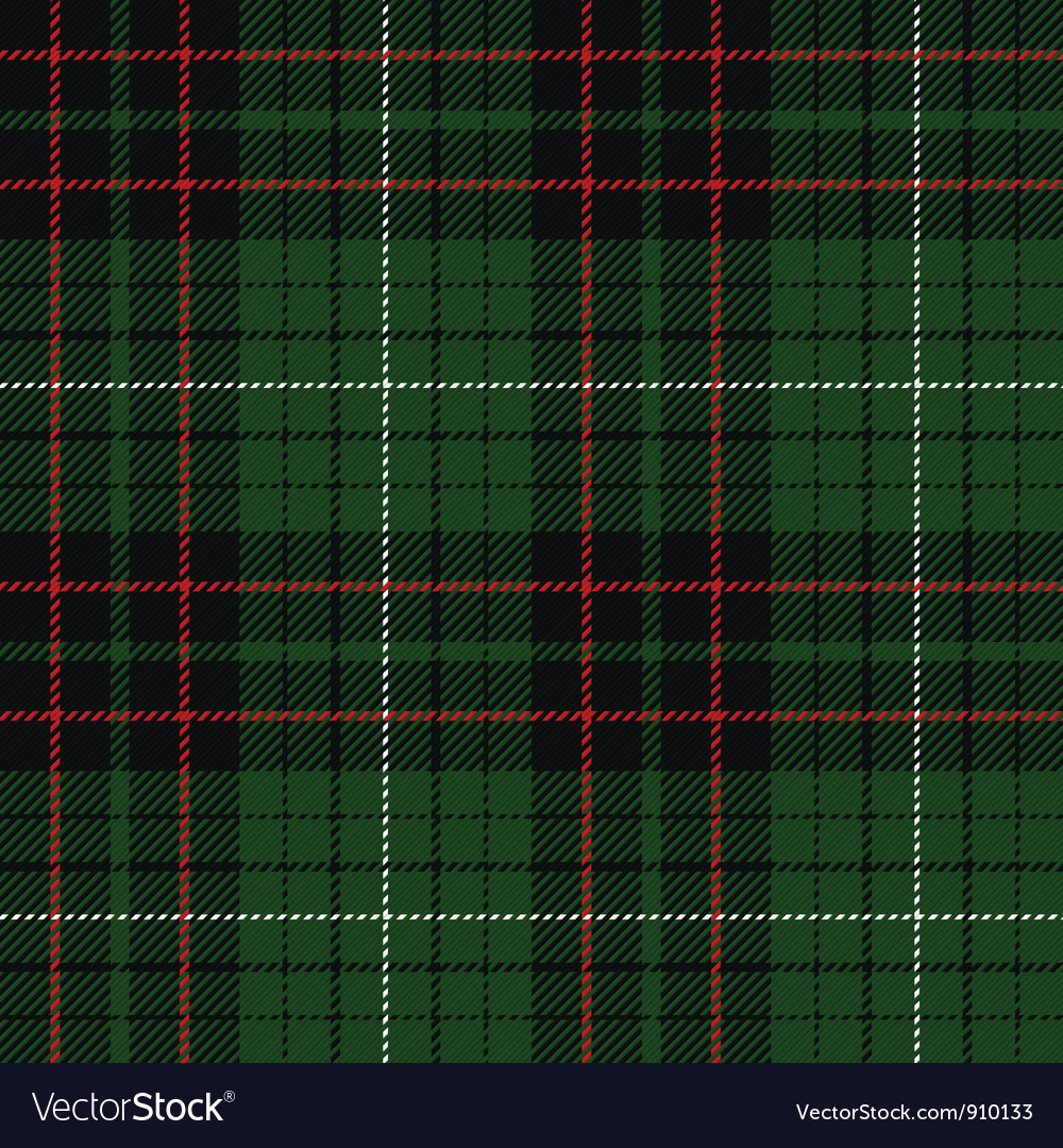 Tartan plaid pattern vector