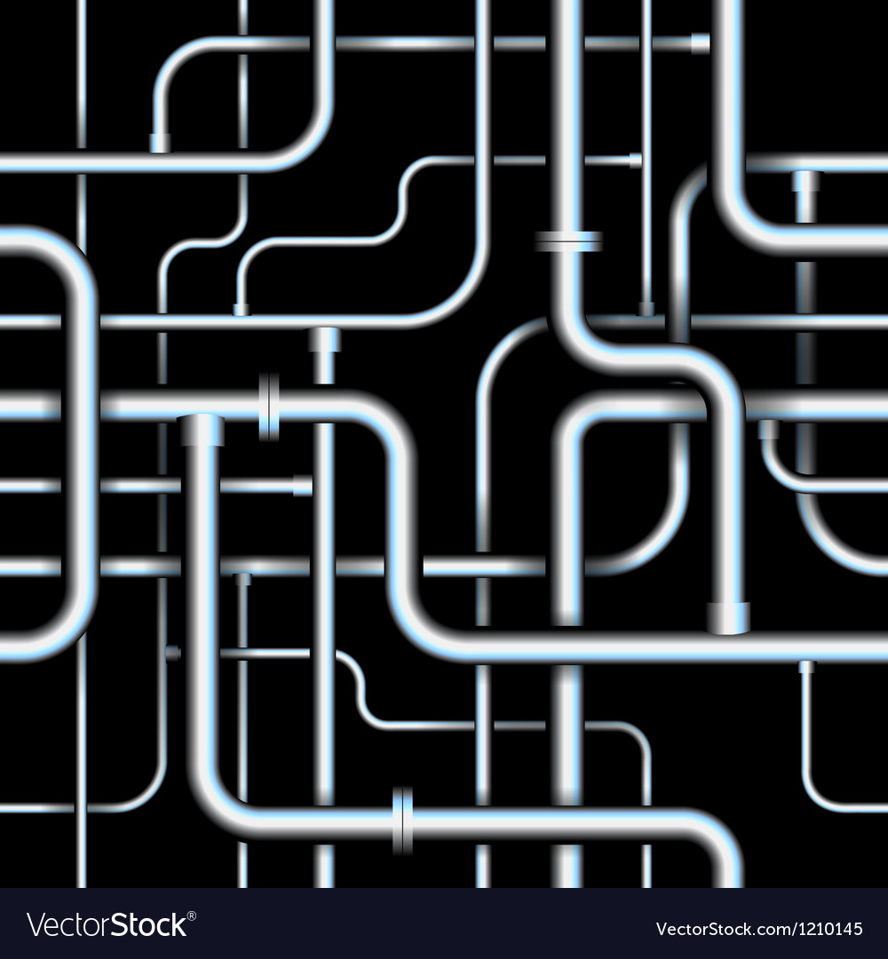 Seamless tubes vector