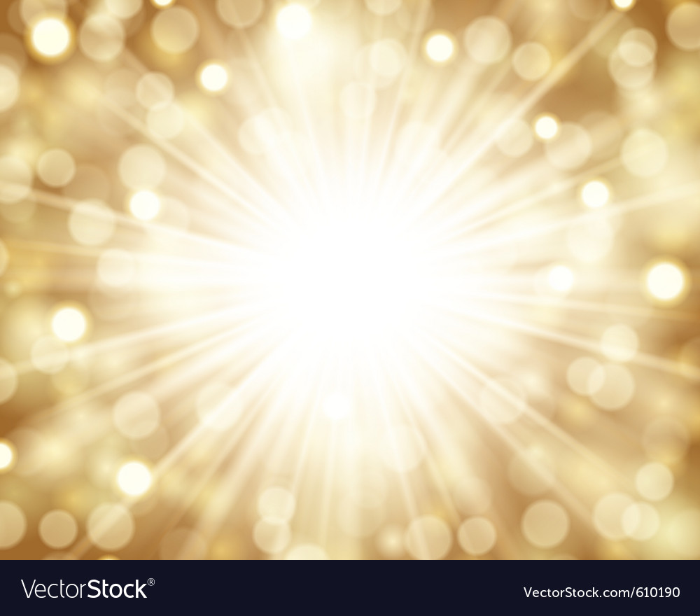 Lens flare light vector